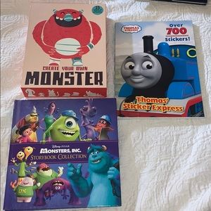 Accessories - Bundle of 3 Children's Books and Activity Books